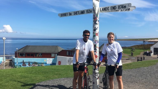 Lands End to John O'Groats cycle ride